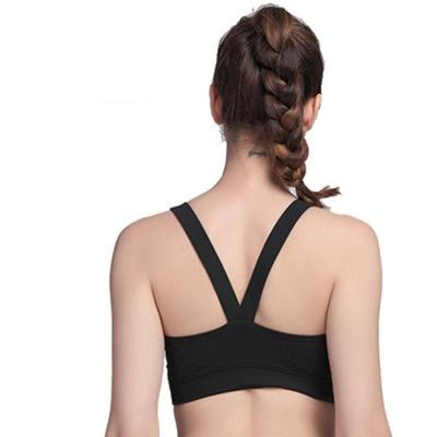 Cross Strap Fitness Compression Crop - Secret Athlete