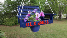 Load image into Gallery viewer, Ole Miss Planter Swing