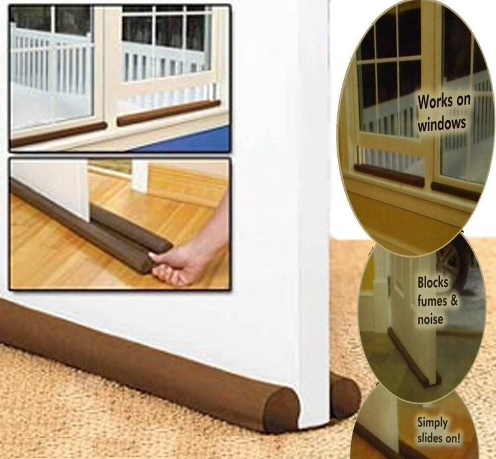 Energy Efficient Insulation Noise Reducer Door Draft Guard Air Stopper