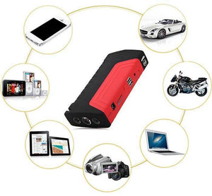 50,800mAh Power Bank Portable Car Jump Starter + Free Air Compressor