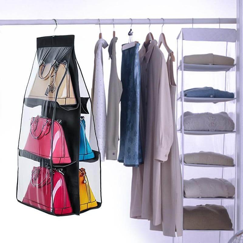 6 Pocket Handbag Organizer