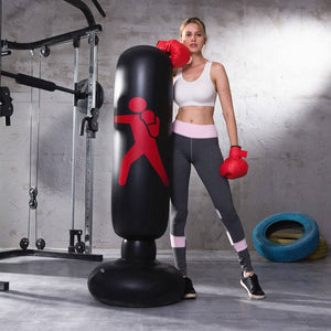 Inflatable Fitness Kick Boxing Pillar