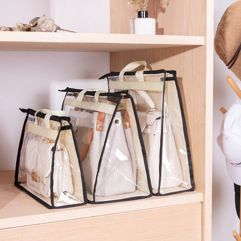 Breathable Clear Luxury Bag Dust Cover