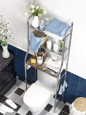 3 layer Stainless Steel Bathroom Rack