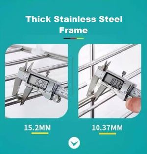 Stainless Steel High Kitchenware Storage Rack