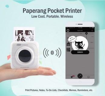 Portable Bluetooth Thermal Photo Printer
