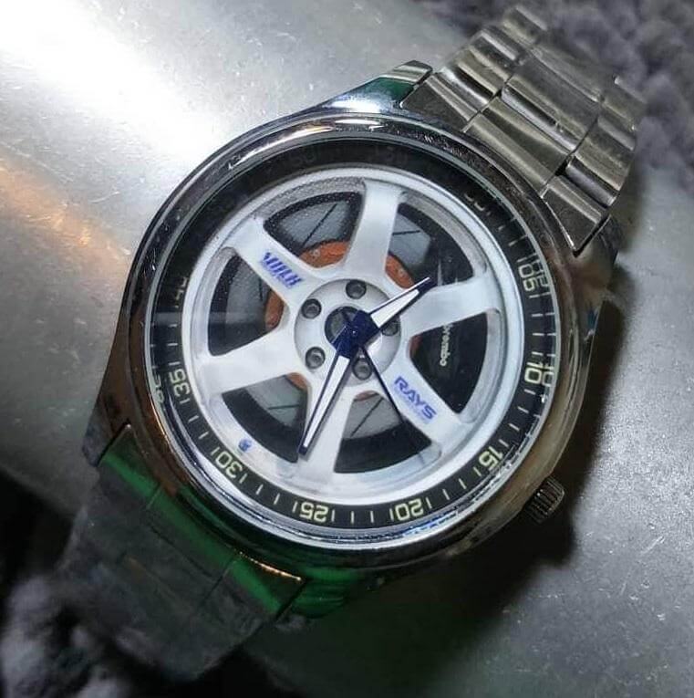 Volk TE37 Metal Sport Watch