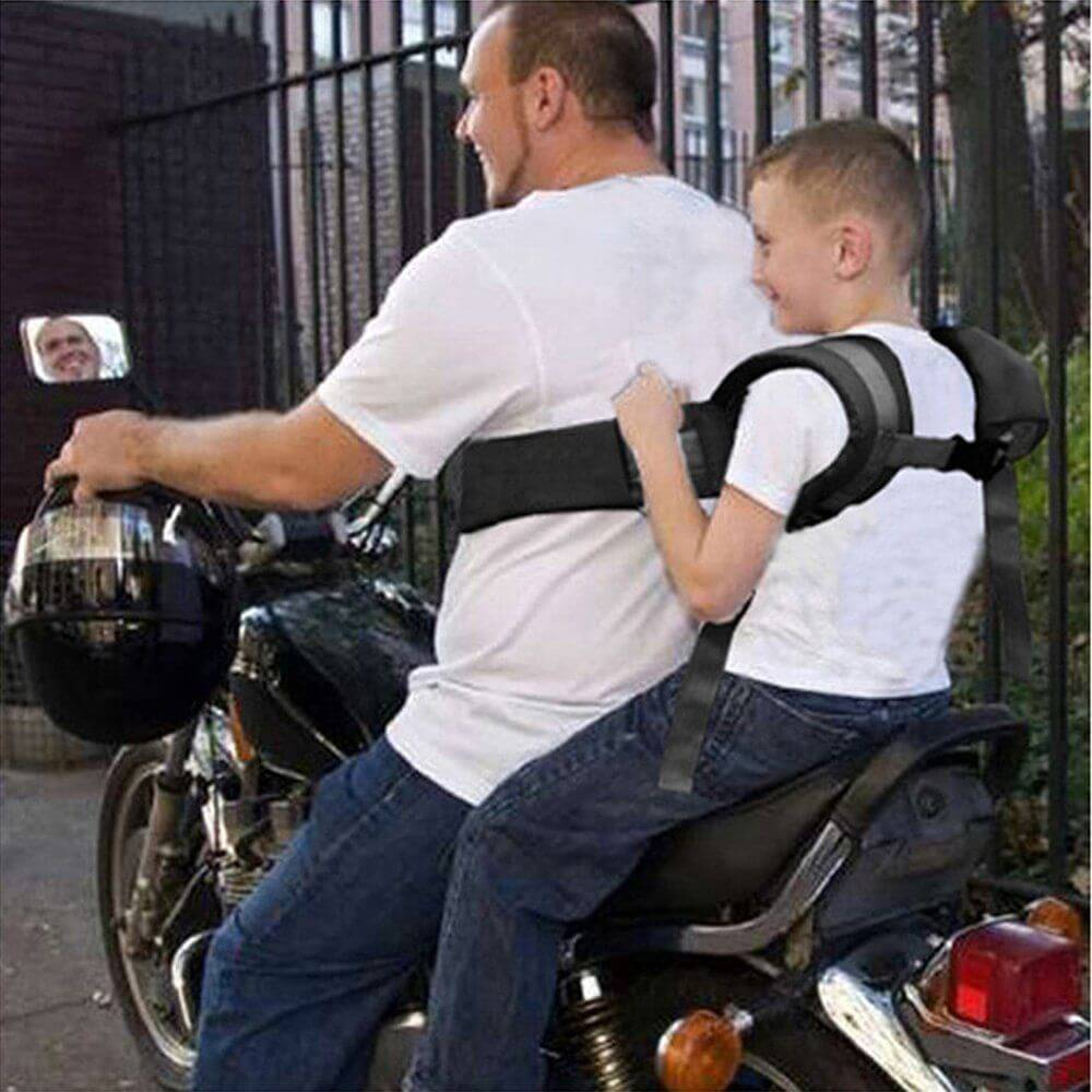 Motorcycle Safety Belt for Children