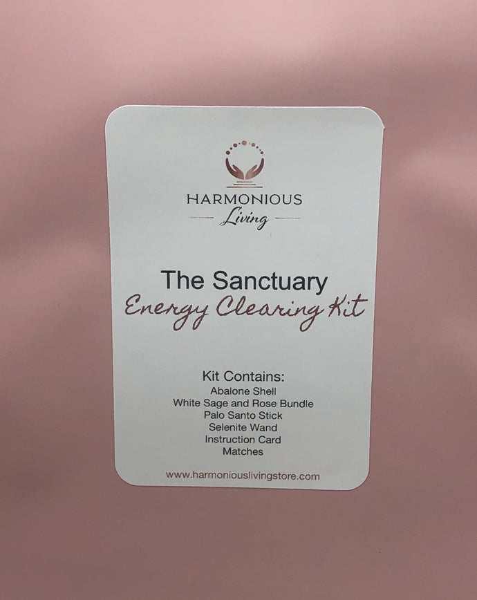 The Sanctuary Energy Clearing Kit