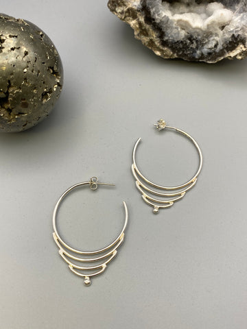 stepped hoops