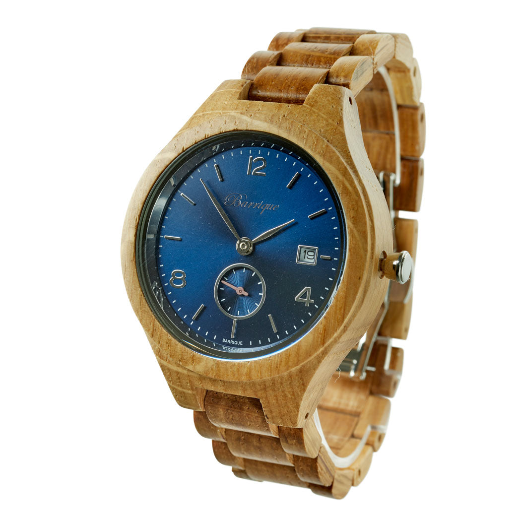 Barrique oak barrel watch merlot wooden watch winegift winewatch winelover naturelover