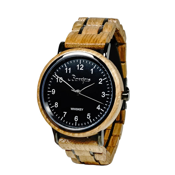 Barrique designwatch whisky watch whisky barrel black dial manwatch whiskylovers naturelovers