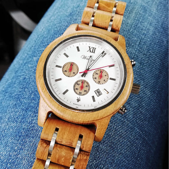 oak barrel watch barrique gift for him for her