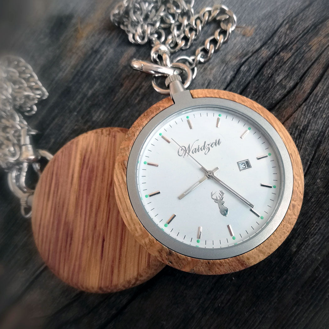 barrique design watches pocket watch wooden watch winewatch