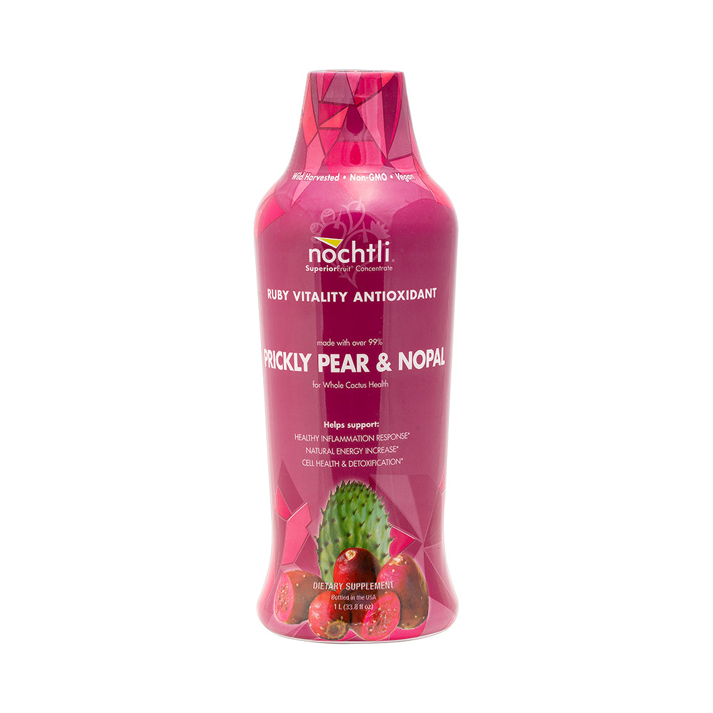 NOCHTLI - PRICKLY PEAR & NOPAL - Ruby Vitality Antioxidant