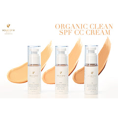 Organic Clean CC Sunscreen SPF 32 (Light-Medium-Tan)