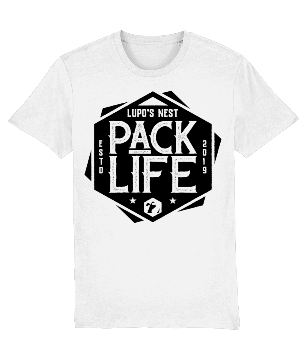 Lupo's Nest | 'Pack Life' Organic Cotton T-shirt