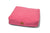 Lupo's Nest | Luxury modern pillow dog bed. Anti-allergy pet bed, hypoallergenic, durable and machine washable. Choice of wool or hollow-fibre filling. In Pink.