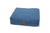 Lupo's Nest | Luxury modern pillow dog bed. Eco-friendly, anti-allergy pet bed, durable and machine washable. Choice of wool or hollow-fibre filling. In Periwinkle Blue.
