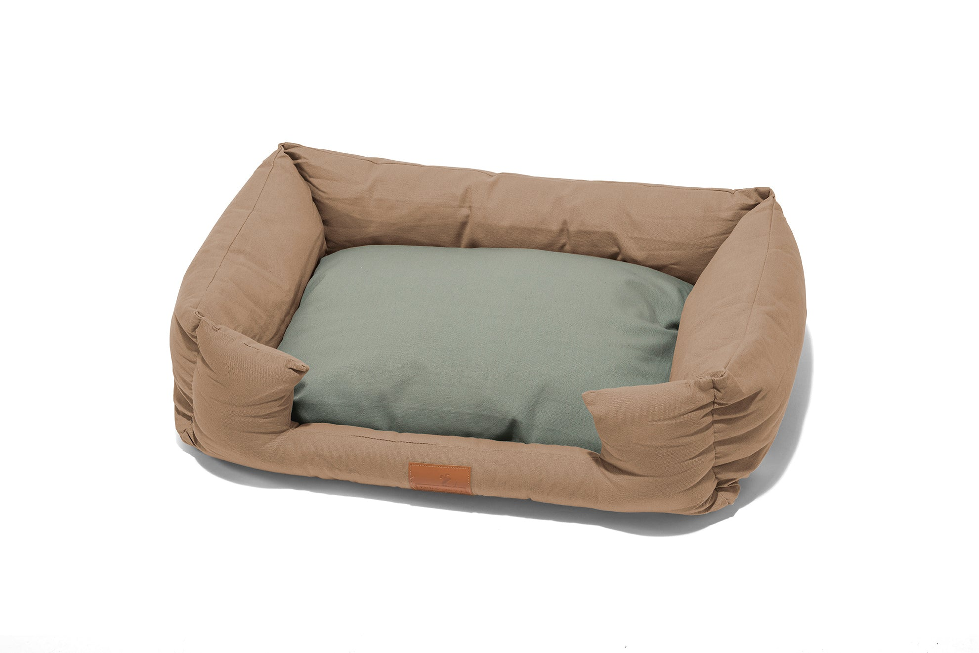 Fido's Nest | Hypoallergenic Crib Dog Bed in Cappuccino