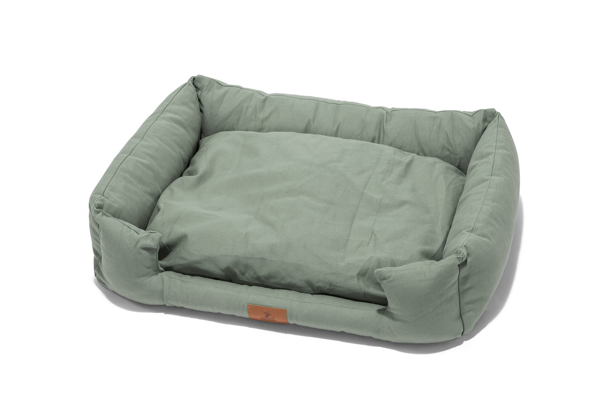 Lupo's Nest | Hypoallergenic Crib Dog Bed in Sage