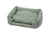 Lupo's Nest Crib Style Dog Bed in Sage, Anti-allergy materials, machine washable