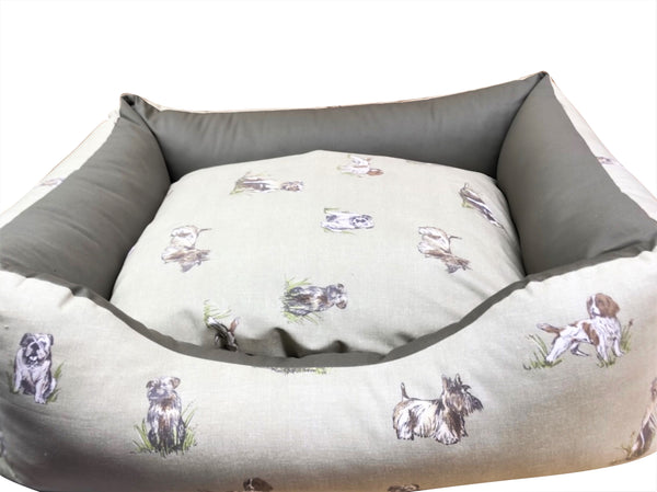 Lupo's Nest | Country Range Settee Dog Beds