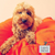 Lupo's Nest | Hypoallergenic Pillow Dog Bed in Clementine Orange