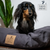 Lupo's Nest | Hypoallergenic Pillow Dog Bed in Charcoal Grey