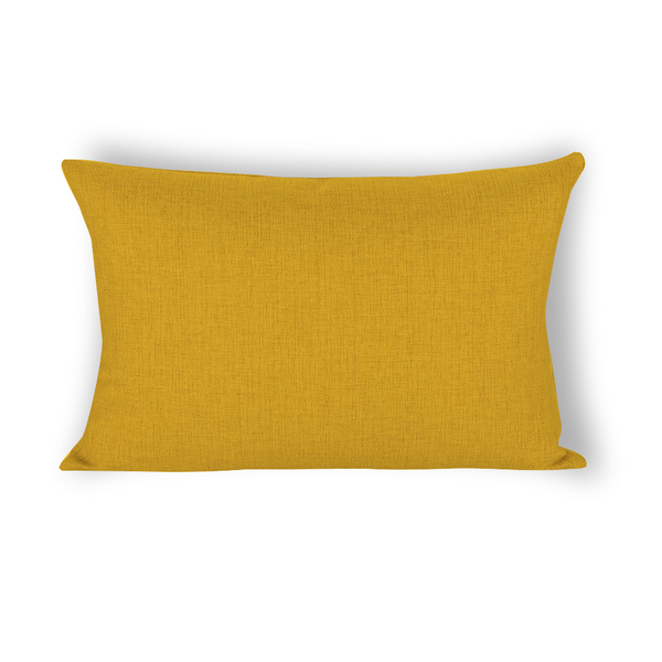 Lupo's Nest Mustard Yellow Dog Pillow Bed