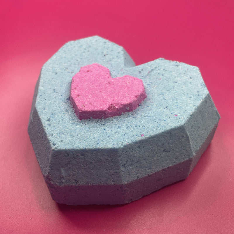 Heart Container Bath Bomb