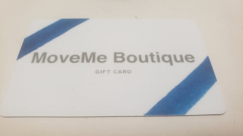 MoveMe Boutique Giftcarda