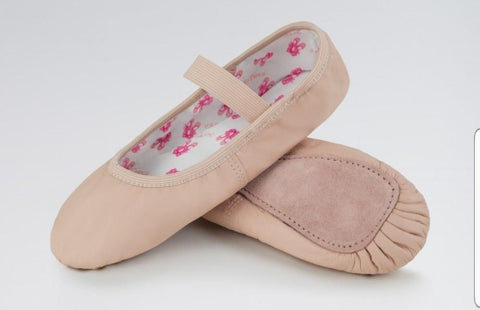 So Dance Child Leather Full Sole Ballet Slipper SD69