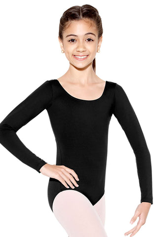 So Danca Child Long Sleeve Leotard  SL15