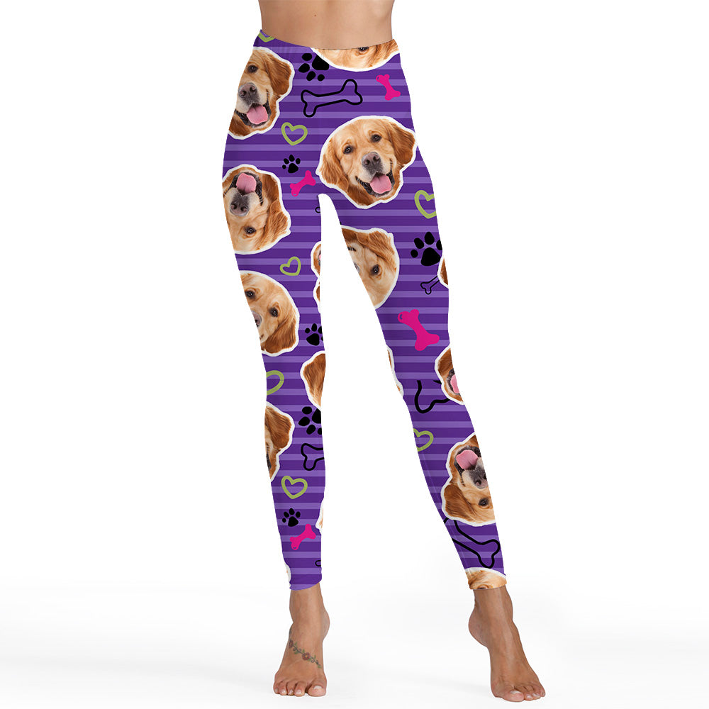 Custom Premium PupLeggings LEQCS3