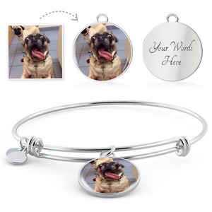 Custom Pup Bangle
