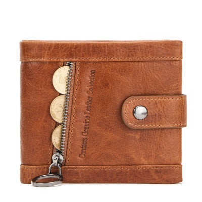 Men's Superior Soft Leather Wallet