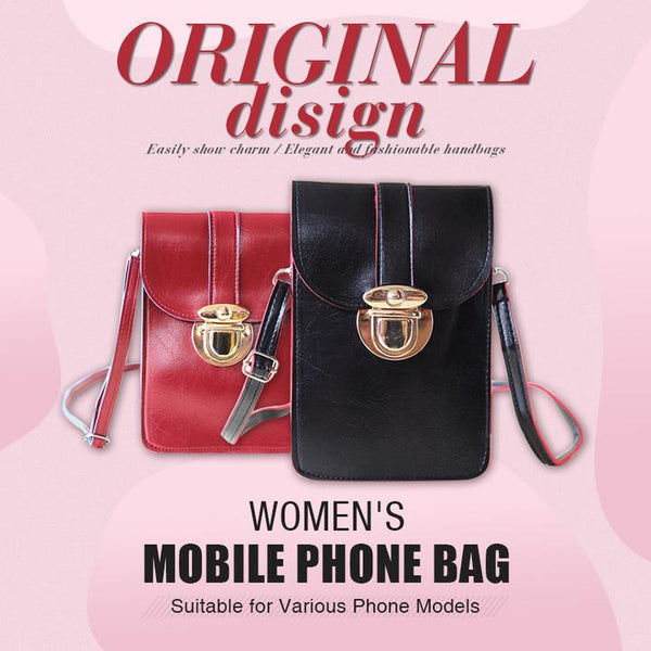 Touchable PU Leather Phone Bag
