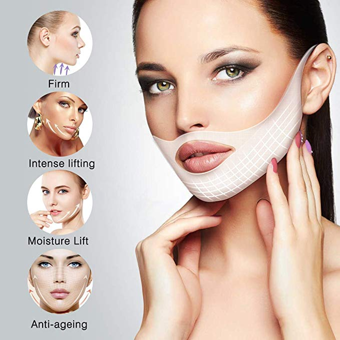 Miracle V-Shaped Slimming Mask【5Pcs Pack】