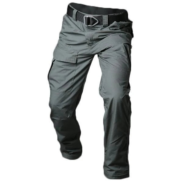 Multifunction Outdoors Well-equipped Tactical Waterproof Durable Pants【Grey Color/Khaki Color】
