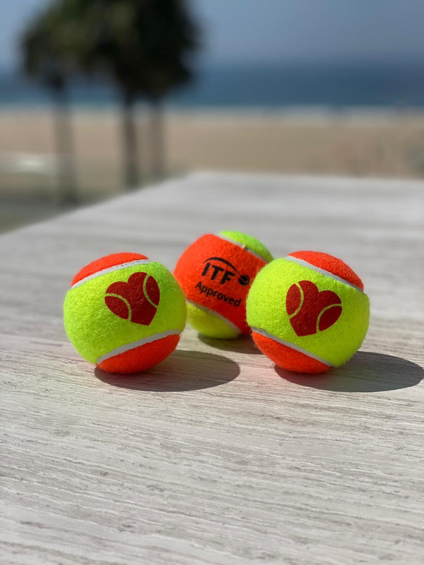 I ❤️ BT Beach Tennis Ball - ITF APPROVED