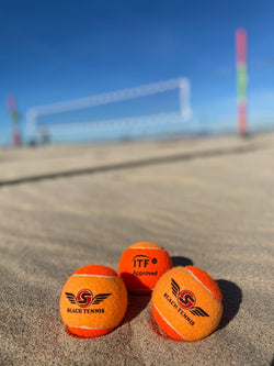Limited Edition - The Tropical S Ball in Atomic Orange - ITF APPROVED
