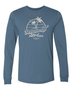 Men's Certified Organic Beach Tennis Beachy Vibes Long Sleeve