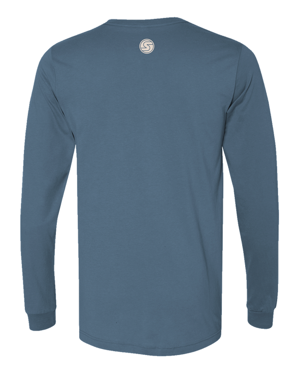 Men's Certified Organic California Beachy Vibes Long Sleeve