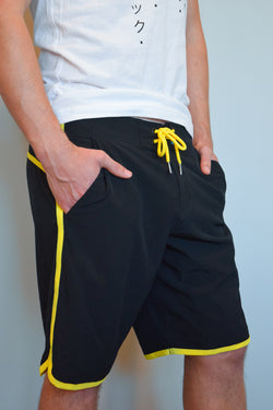 Men's Competition Hybrid Shorts in Yellow