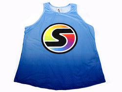 Men's Competition Tank in Blue/Light Blue Ombré