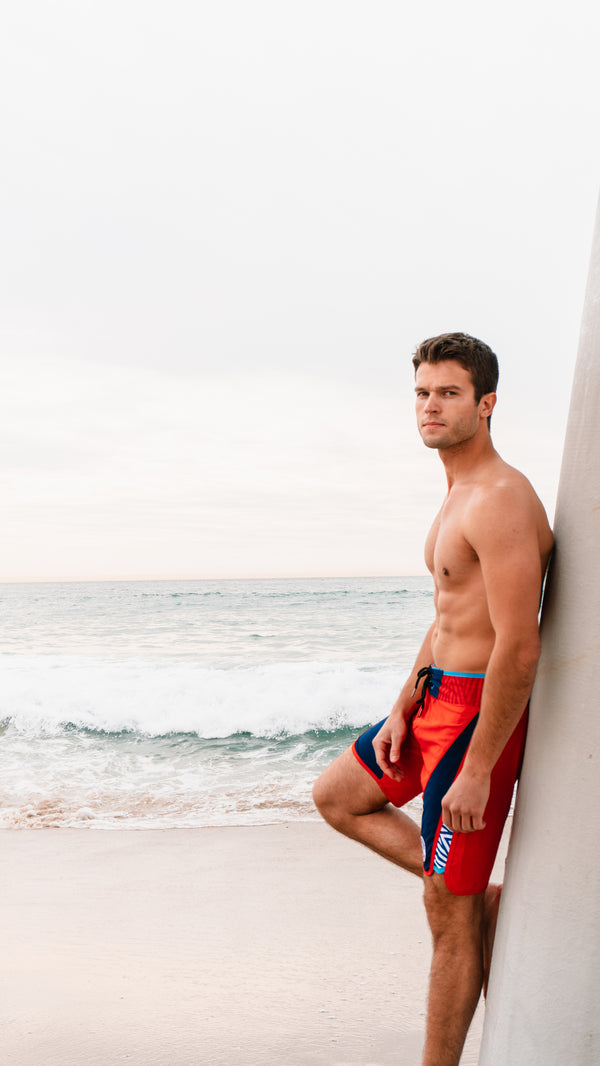 Team USA Boardshorts in Red