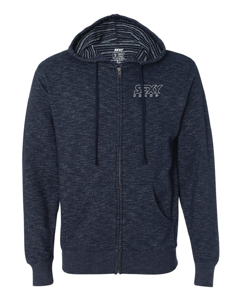 Men's South Of The Border Zip-Up Hoodie in Azul