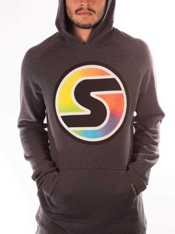 Big S Softie Hoodie in Gray