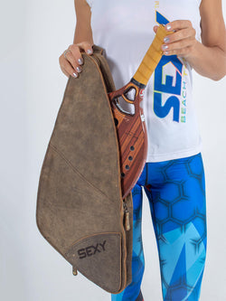 Leather Paddle Case Sexy Brand Beach Tennis